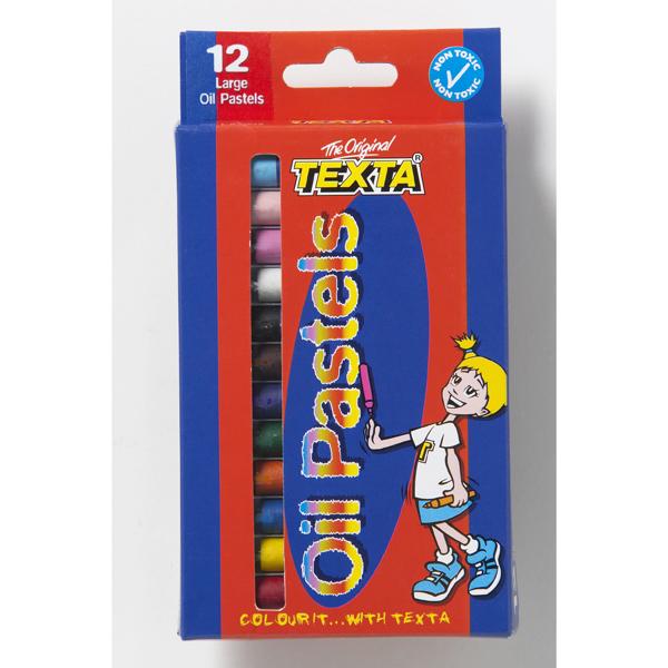 Pastels Oil Texta Large 12 (FS)