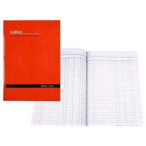 Account Book A24 3 Money Column (Treble Cash) (FS)