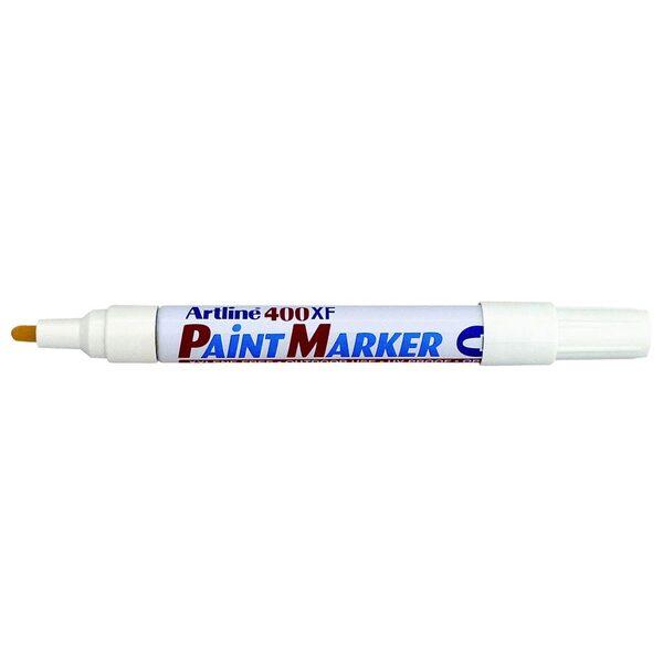Artline 400 Paint Marker Permanent 2.3mm Bullet White (FS)