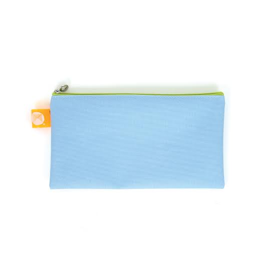 Pencil Case Zip Top Micador 235x130mm Blue
