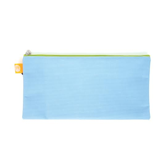 Pencil Case Zip Top Micador 340x170mm Blue
