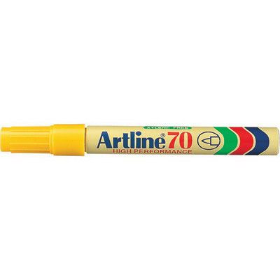 Marker Artline 70 Yellow (FS)