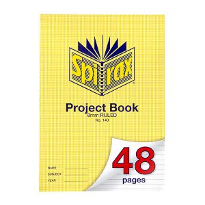 Project Book Spirax A4 48 Page 8mm