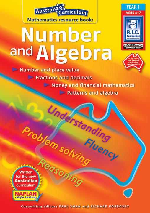 Australian Curriculum Mathematics – Number and Algebra - Year 1