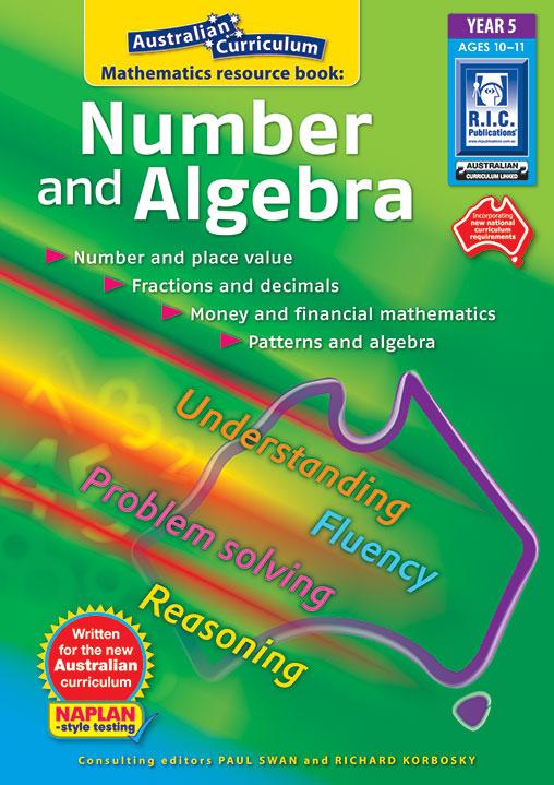 Australian Curriculum Mathematics – Number and Algebra - Year 5