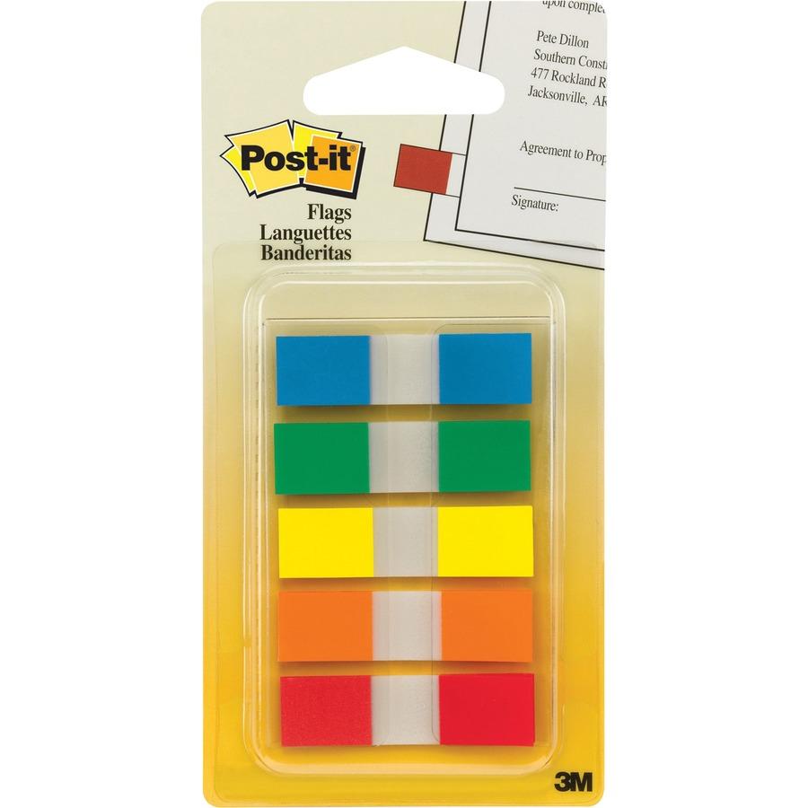 Flags Post-It 683-5CB Mini Assorted Pkt5 (FS)