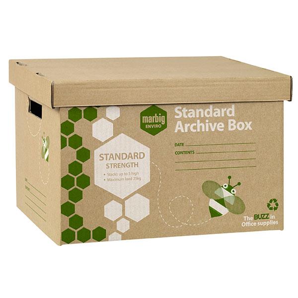 Archive Box Marbig Enviro Pkt5 (FS)