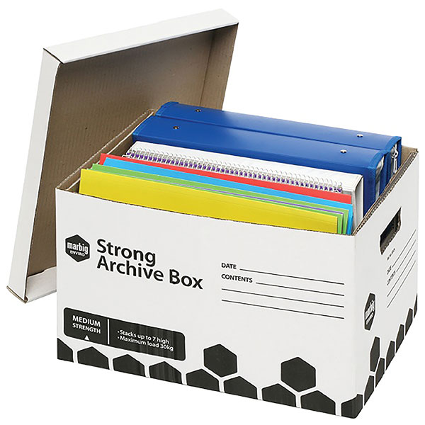 Archive Box Marbig Strong Pkt3 (FS)