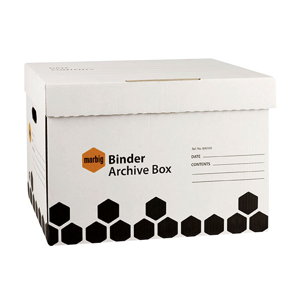 Archive Binder Box Marbig (FS)