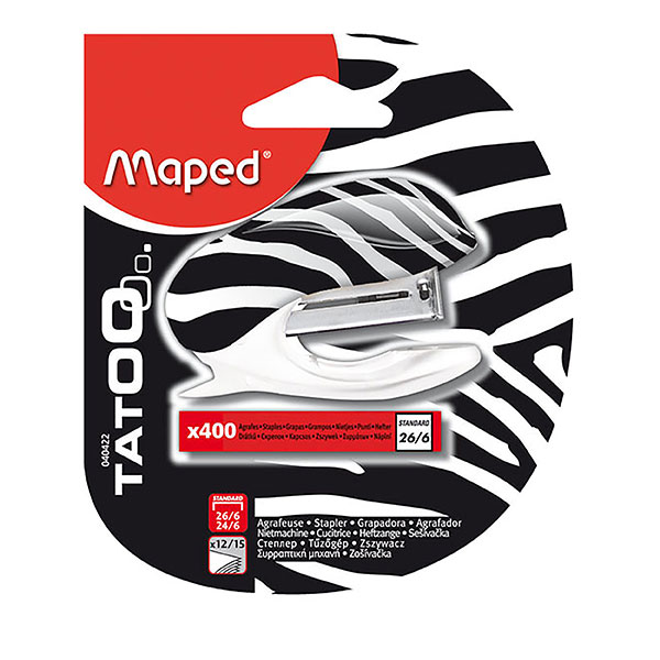 Stapler Mini Maped No.10 With Staples