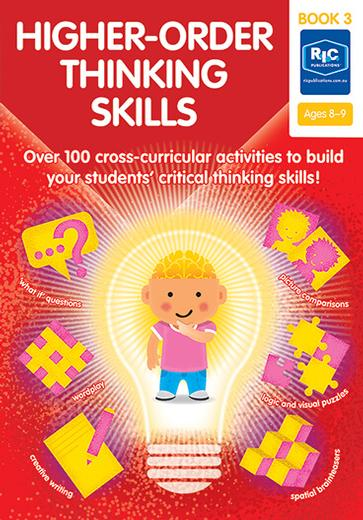 Higher-Order Thinking Skills Book 3 Ages 8-9
