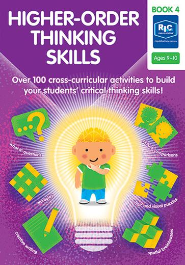 Higher-Order Thinking Skills Book 4 Ages 9-10