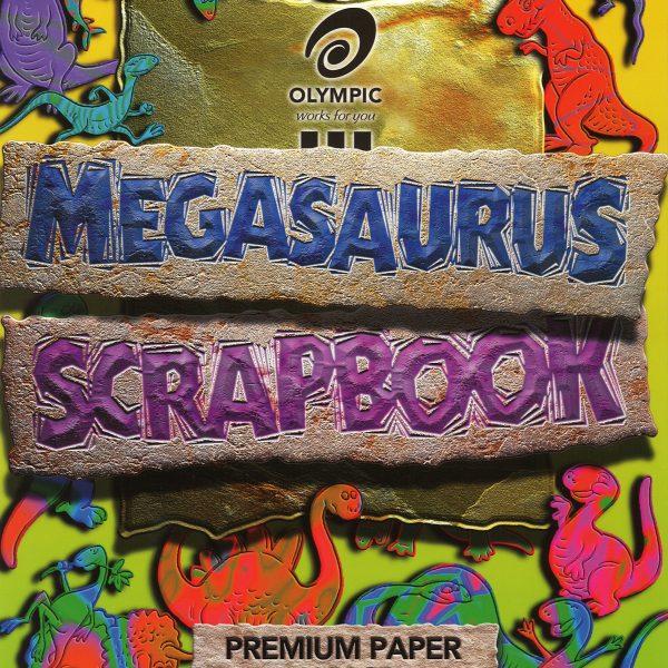 Scrap Book Megasaurus 335x245mm 64 Page