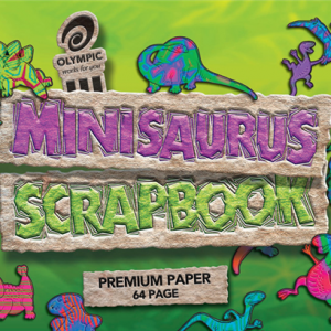 Scrapbook Minisaurus 168x240mm 64 Page