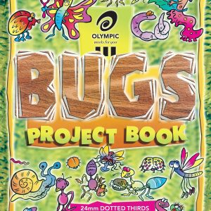 Project Book Bugs 335x240 24mm Dotted Thirds 64 Pages