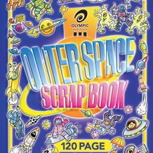 Scrap Book Outerspace 330x280mm 60 Leaf