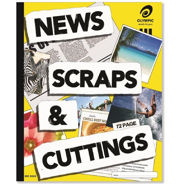 Scrap Book News & Cutting 400x325mm 72 Page