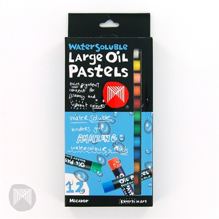 Pastels Oil Large Micador Water Soluble 12 (FS)