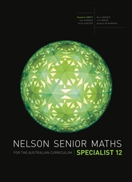 Nelson Senior Maths Specialist 12 for the Australian Curriculum