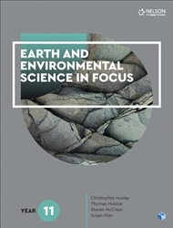 Earth and Environmental Science in Focus Year 11 Student Book with 1 Access Code for 26 Months