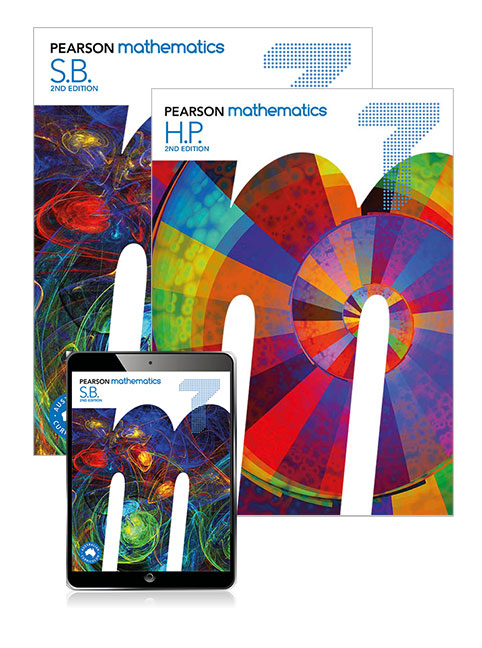 Pearson Mathematics 7 2nd Edition SB/EB/HWP/LBS