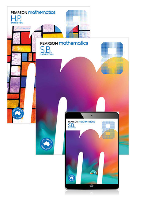 Pearson Mathematics 8 2nd Edition SB/EB/HWP/LBS