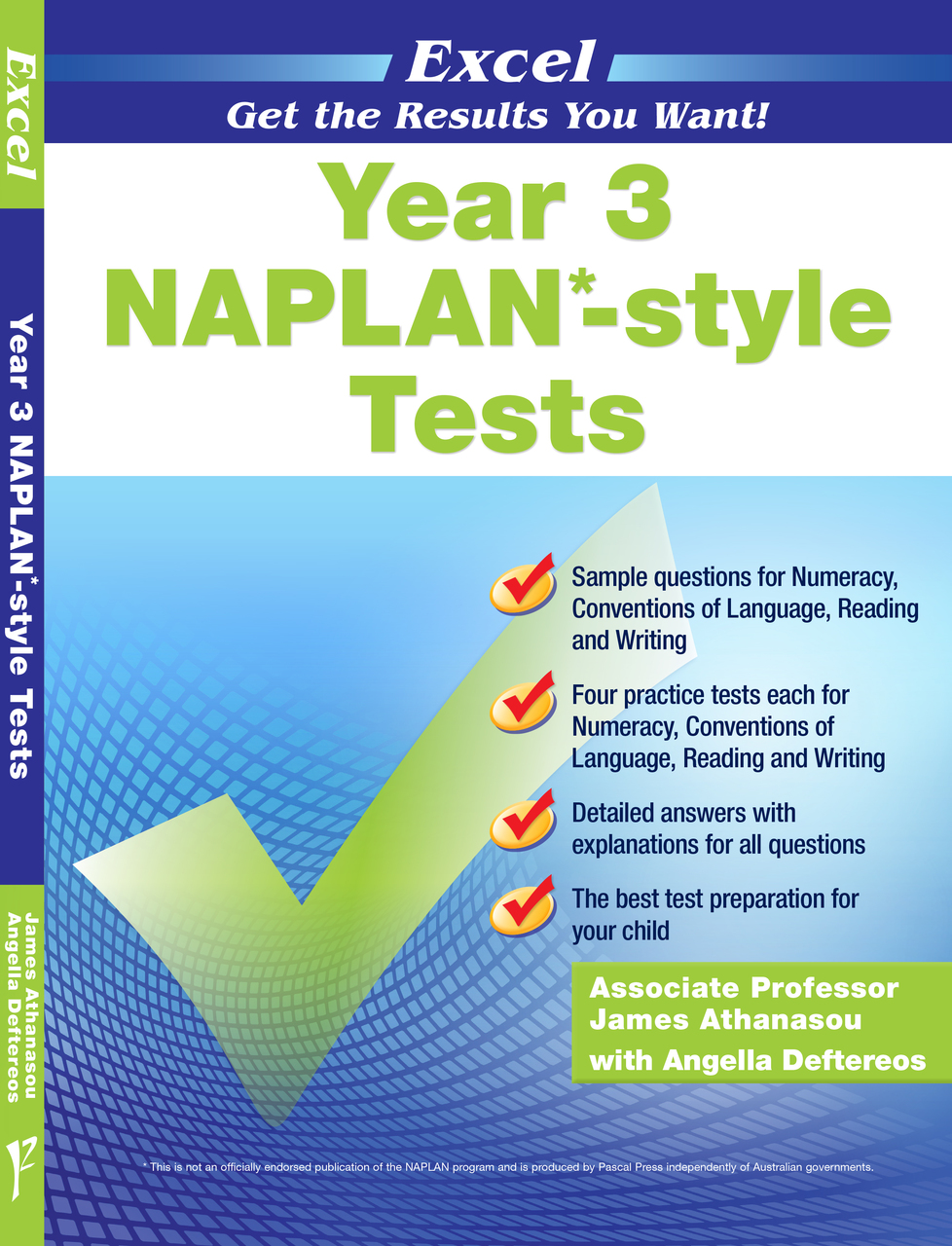 EXCEL - YEAR 3 NAPLAN*-STYLE TESTS
