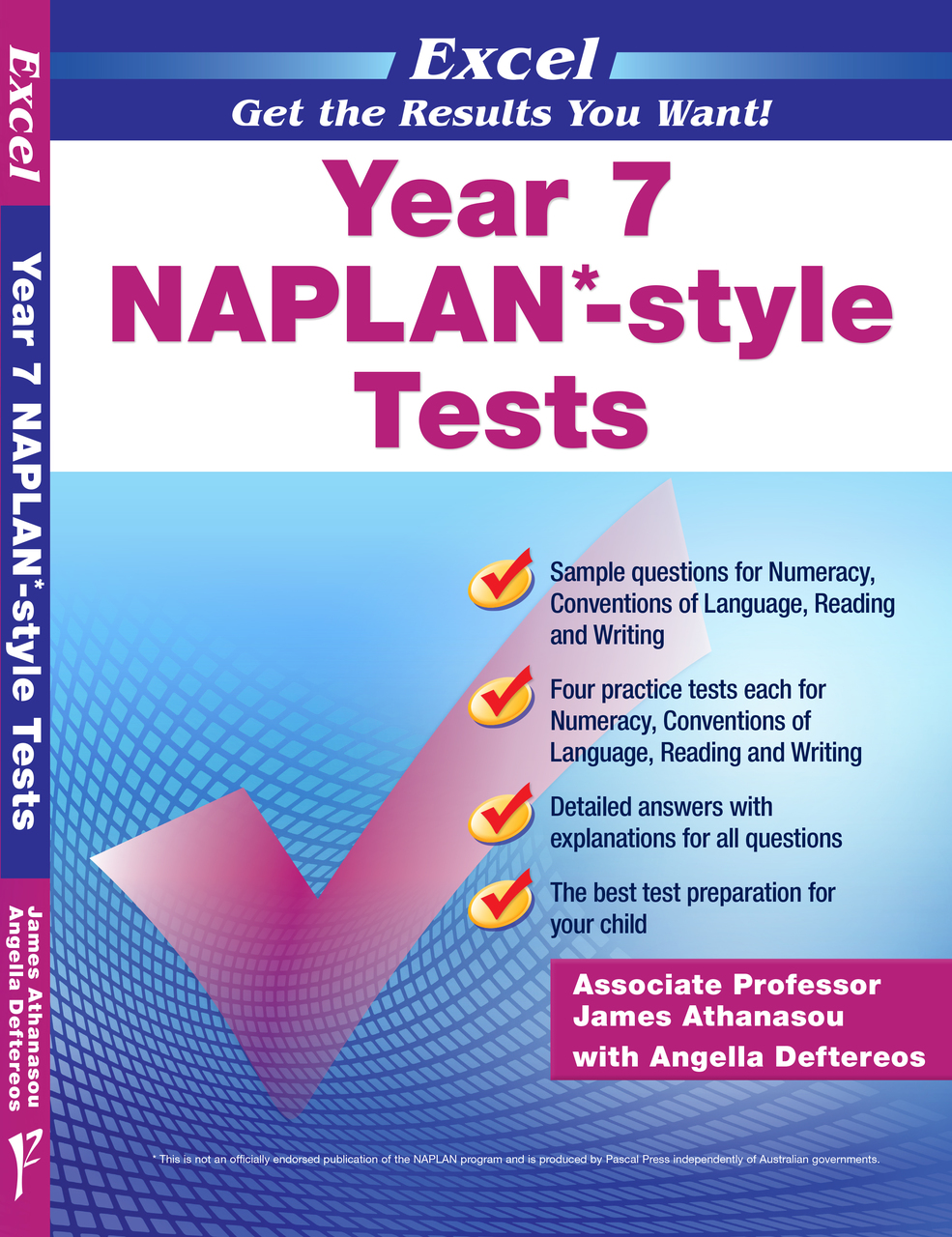 EXCEL - YEAR 7 NAPLAN*-STYLE TESTS