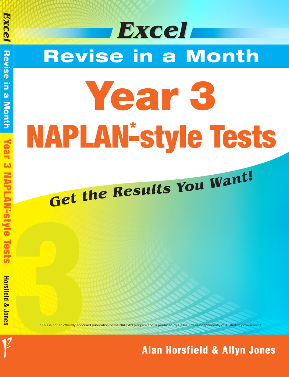 EXCEL REVISE IN A MONTH - YEAR 3 NAPLAN*-STYLE TESTS