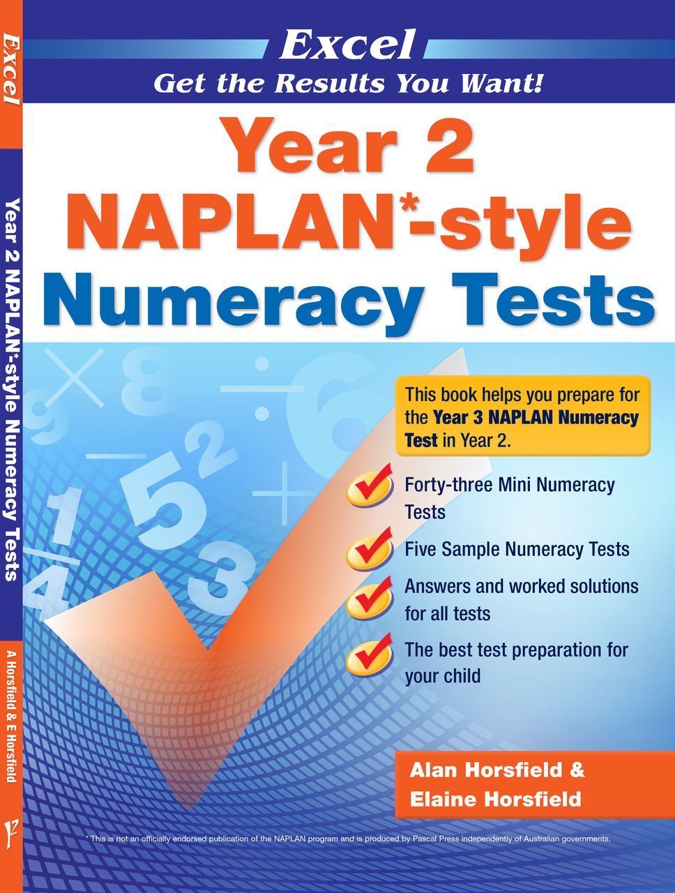 EXCEL - YEAR 2 NAPLAN*-STYLE NUMERACY TESTS