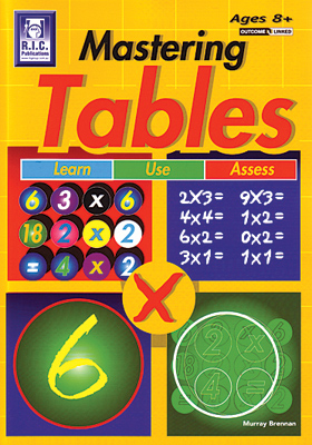 Mastering Tables - Ages 8+
