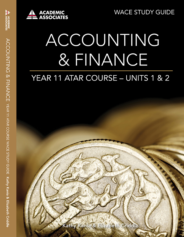 Accounting & Finance Year 11 ATAR Course Study Guide - Units 1 & 2