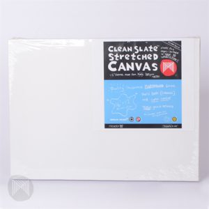 Canvas Stretched 16x12 Clean Slate Pkt 2 (FS)