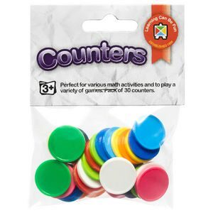 Counters Assorted Pack of 30