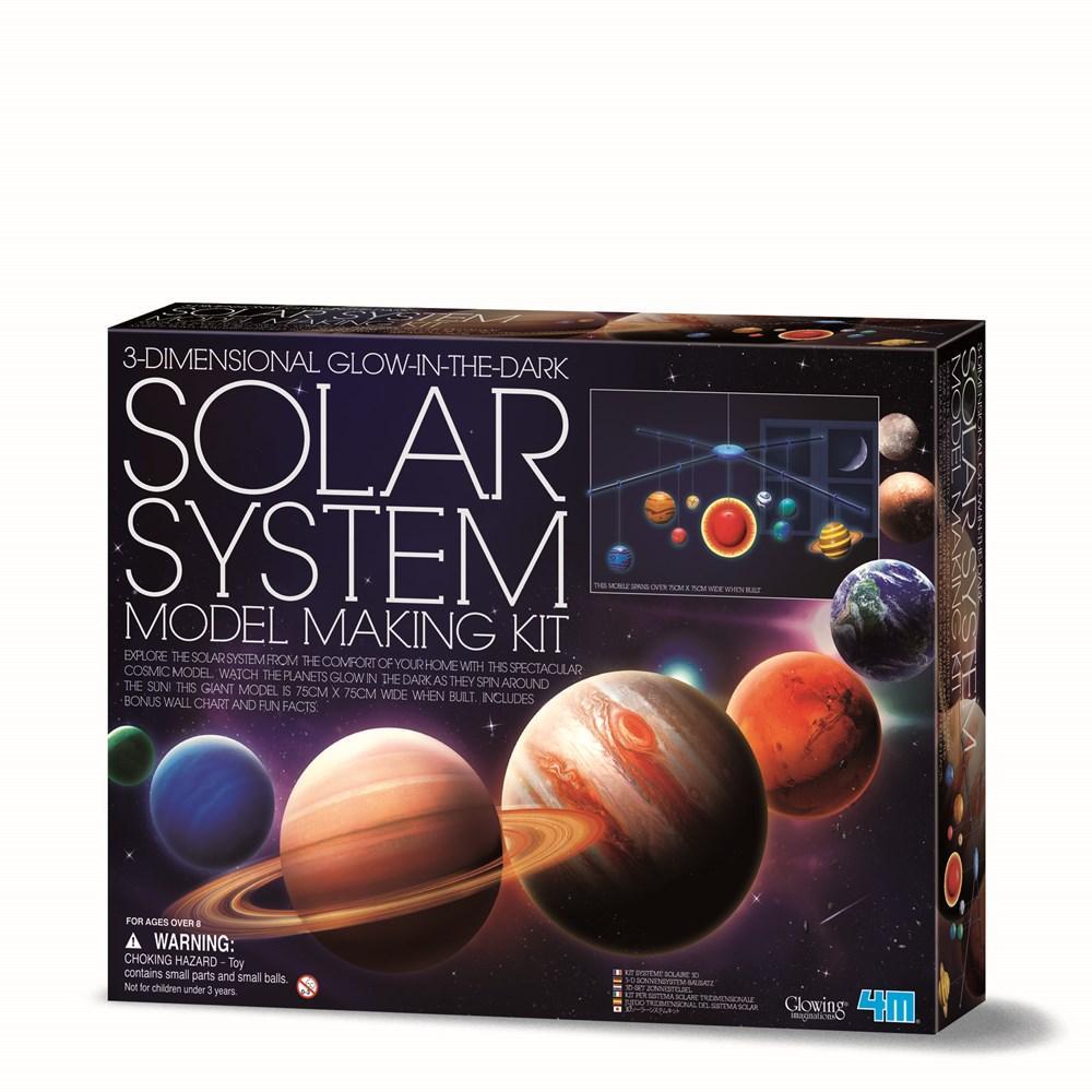 4M Solar System Mobile Kit Large