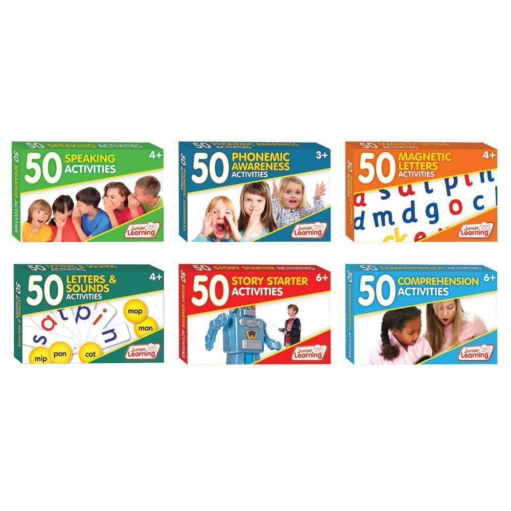 50 Activities Set - Literacy Mastery