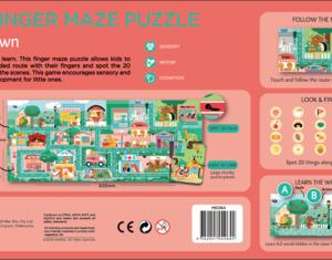 My Finger Maze Puzzle - ABC Town