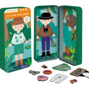 Magnetic Puzzle Box - Nature Explorer