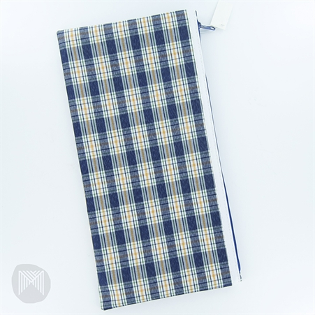 Pencil Case Tartan Large 340x170mm