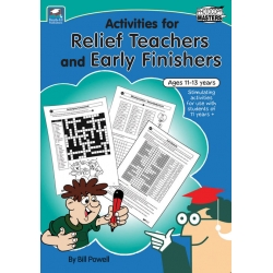 Activities for Relief Teachers and Early Finishers - Ages 11+