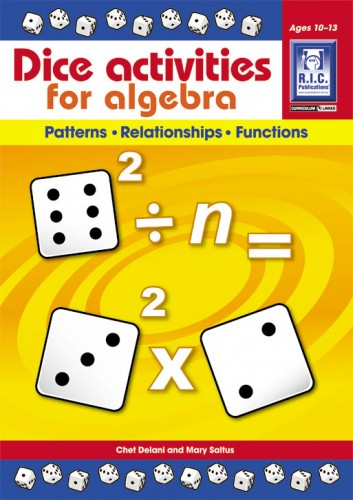 Dice Activities for Algebra - Ages 10-13
