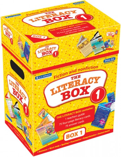 The Literacy Box Series - Box 1