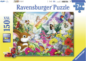 Ravensburger - Beautiful Fairy Forest Puzzle 150pc