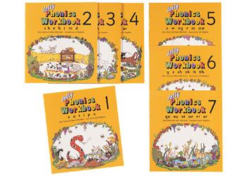 Jolly Phonics Workbooks - Set of Books 1-7