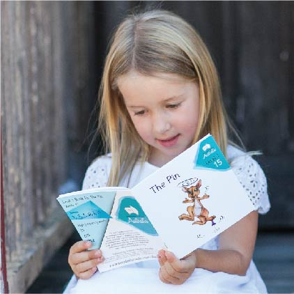 Image result for child reading decodable