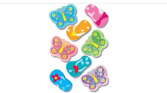 Summer Fun Erasers Pack 100
