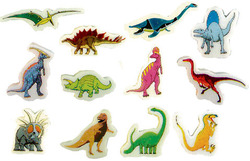 Dinosaurs Erasers Pack 20