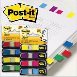 Flags Post-It 683-4 Mini Assorted Colours (FS)