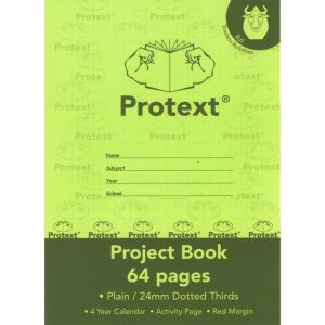 Project Book Protext With Cover 330x245 64pg 24mm Dotted Thirds - Bull (FS)