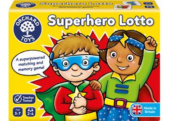 Orchard Game - Superhero Lotto